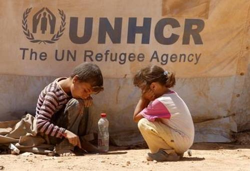 Donazioni, volontariato e assistenza - aiutare i profughi attraverso il web