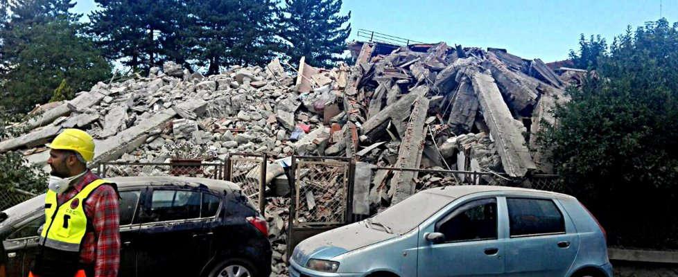 Terremoto a Rieti